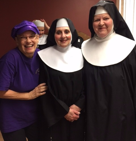 New Nuns Having Fun!